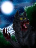 The Moon's Predator by Wolven-Sister