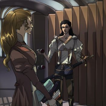 Discovery!  Sif notices another clue by gavorche-san