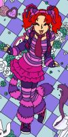 Raving Mad Cheshire by MuseWhimsy