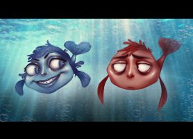 Fish Tale by andrahilde