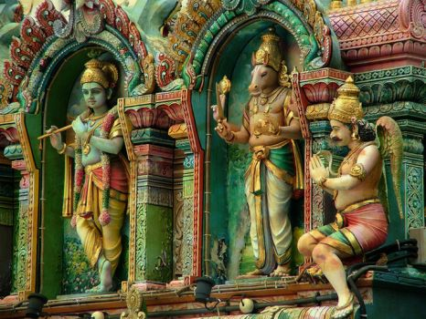 hindu temple by mR-StIck