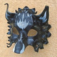 Black and Silver FireFox Mask by merimask
