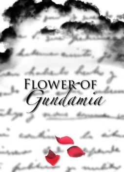 Flower of Gundamia - Fanfic Cover by Shockbox