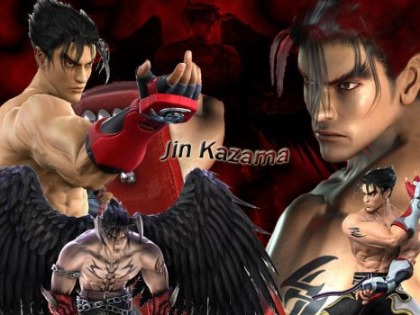 Jin Kazama Wallpaper by TiTmyster