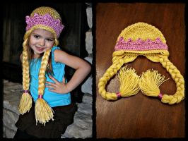 Rapunzel Hat by TheCrochetDragon