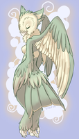 Commish - Lady of Light by Trickitt