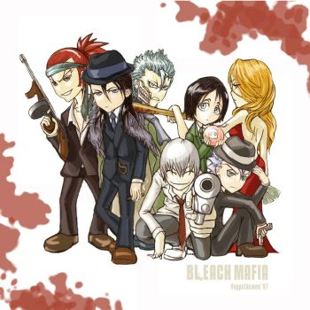 BLEACH MAFIA by puppetdemon
