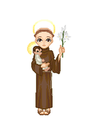 St. Anthony of Padua by crestles