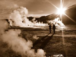 Early Morning Geysers by James-Brew