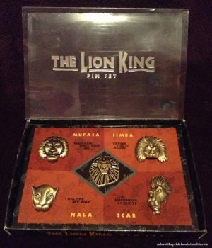 Lion King Musical Set of Five Pins by rulerofthepridelands