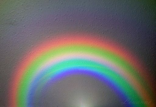 Rainbow on my Ceiling by Loulou13