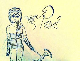 Poet: Name Art by Javott