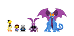 Undertale sprites by swaggerpede