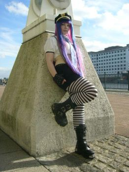 Stocking II by Esme-Silver