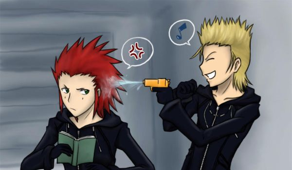 KH2 - Fire and Water by cherlye