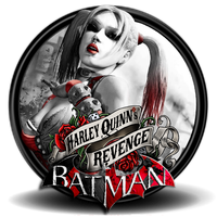 arkham city harley quinn revenge PNG icon by SidySeven