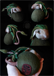 Meri the Nordic Forest Troll (available on Etsy) by Nymla