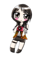 The raven haired Miko by Danielle-chan