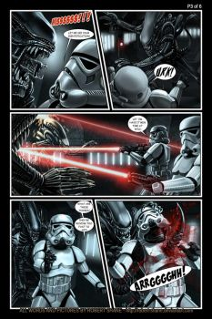 Star Wars vs Aliens - short story - Page 3 of 6 by Robert-Shane