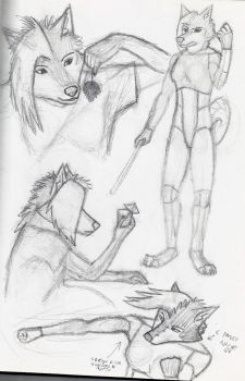 Phoenix sketches by Virtual-wolf