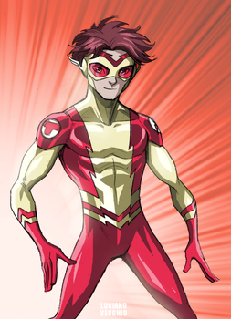 Kid Flash - Bart Allen by LucianoVecchio