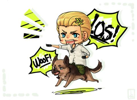 Prize: Germany n Dog by Jotaku