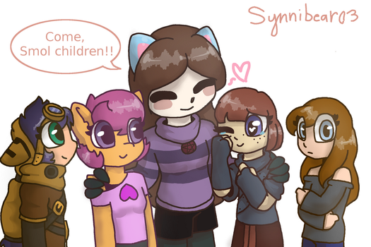 Children of Chaos by synnibear03
