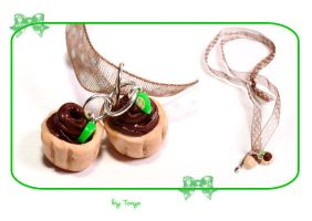 Chocolate and Lime Tarts by Tonya-TJPhotography