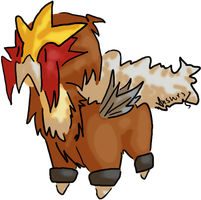 Legend Dogs - Entei by answrs