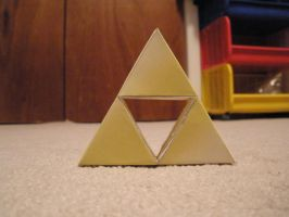 triforce papercraft by pancakes-D