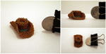 Mini Bead Western Cowboy/girl Hat by pinkythepink
