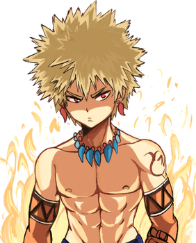 Bakugou by CooliSushi