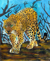 Leopard of Malice by marissippi