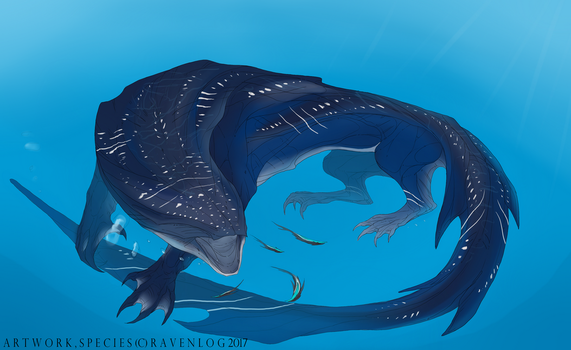 Whale Shark creature by Ravenlog