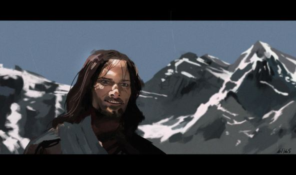 (Study) Aragorn by The-Poumi