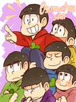 Matsuno Brothers by wolfifi