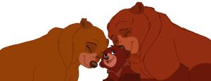 Brother Bear Family by Cinders-Rose