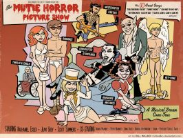The Mutie Horror Picture Show by BillWalko