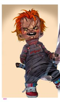CHUCKY by redcloud