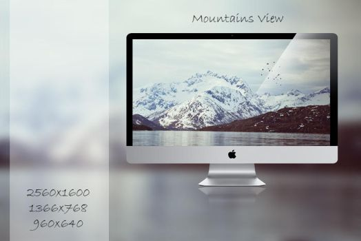 Wallpaper III: Mountains View by NajborGraphics