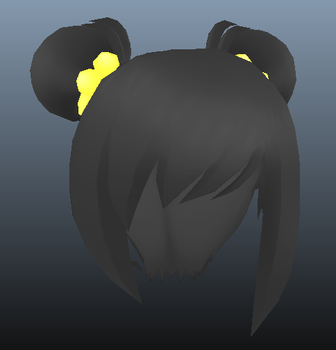 Nico Bun Hair by DerpyPixelz