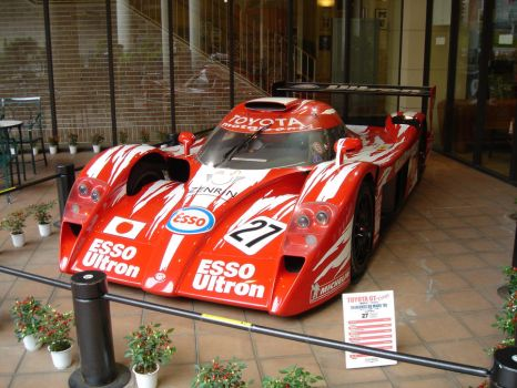 Toyota GT-One by xdumbassx