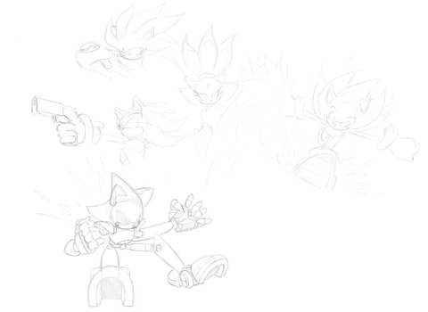 Sonic-Sketches II by bayocand