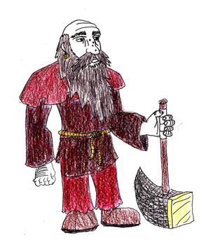Dwarf Concept Art by Zonagon