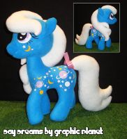 My Little Pony Night Glider - MLP Plushie Contest by GraphicPlanetDesigns