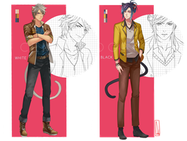 [CLOSED] Casual Nekoroid Auction by CemarAdopts