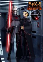 No one expects the Imperial Inquisition by Brian-Snook