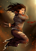 I'll Kill My Enemies When They Come - X-23 by Forty-Fathoms