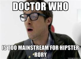 Hipster Rory by That-Wacky-Whovian