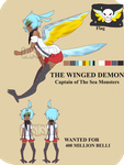 + The Winged Demon + by InkyKyun